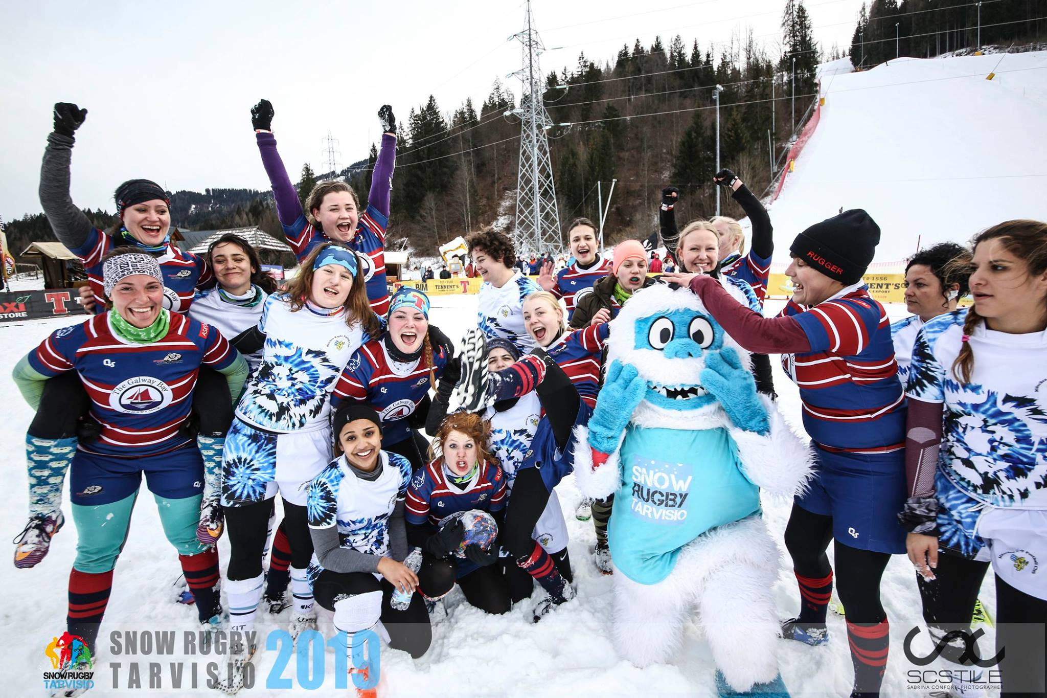 7tes Snow Rugby 5s Turnier Tarvisio 2019
