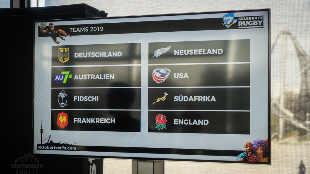 Die All Blacks kommen nach München!